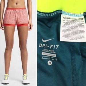 Nike Shorts - NIKE Full Flex 2 in 1 Splatter Training Shorts